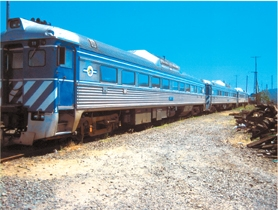 by: , This train used to carry passengers between Portland and Astoria for the Lewis and Clark bicentennial is being auctioned off by the state.