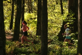 "by: David Plechl, Runners take to the Wildwood Trail in Forest Park, which, OK, isn't the superlative everyone might claim it is in terms of size and status. Supporters say, ""Never mind,"" it — and other parks in the system — are jewels in the city crown."
