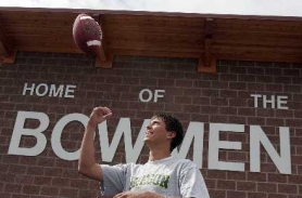 by: JONATHAN HOUSE, BOWMAN TO DUCK — Brian Butterfield, a 2006 Sherwood graduate, earned a spot on Oregon football team.
