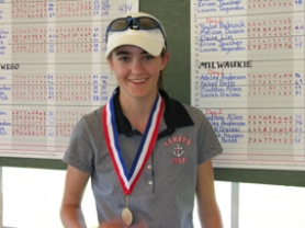 by: , Lake Oswego's Amy Beth Simanton has been one of the hottest junior golfers in the state this summer. Her achievements include a high finish at the PNGA Junior Championships and a district title in high school.