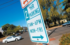by: Jonathan House, City officials might drop a two-hour limit on five downtown parking lots.