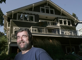 by: Jonathan House, Glen Friedman of West Linn helped design his 3,045-square-foot environmentally friendly home. He says he now uses 40 percent less energy than before, when his family lived in a smaller house.