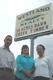 by: Clinton Vining, Rick Mudrow, Dianne Lomeli and Kris Conner are three of the five new realtors at Westland Realty in Estacada.