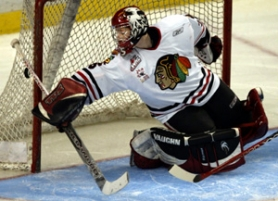 by: L.E. BASKOW, The Winter Hawks' fortunes could rise or fall with goalie Kurtis Mucha, who emerged last season.