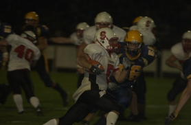 by: Chris Krieger, Running back/wide receiver Jake Fenwick has emerged as a valuable offensive weapon for the Sandy Pioneers in 2006.