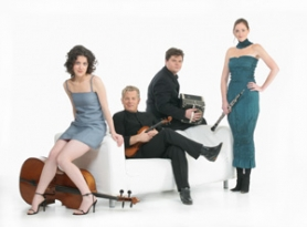 by: COURTESY OF QUARTETTO GELATO, Quartetto Gelato, a Canadian chamber quartet, offers musical finesse, pathos and humor to traditional and nontraditional classical lovers alike.