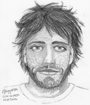 by: CCSO, Victims of a beating at the Bagby Hot Springs trailhead described this as their attacker, he was accompanied by a pregnant woman.