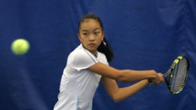 by: jim CLARK, Belinda Niu practices at the Academy at the University of Portland, where she trains with Aaron Gross.