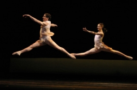 "by: COURTESY OF OREGON BALLET THEATRE, The first ballet that Artistic Director Christopher Stowell created for Oregon Ballet Theatre, ""Adin,"" sent dancers Karl Valkili and Anne Mueller soaring in 2004. It gets a reprise this weekend."