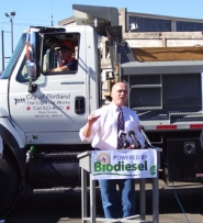 by: COURTESY OF THE PORTLAND WATER BUREAU, City Commissioner Randy Leonard is getting ready to stump for biodiesel in Eastern Oregon.