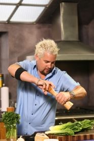 by: ©2006 FOOD NETWORK, If Guy Fieri wields a pepper mill like an award-winning chef, it's because he is one. He'll show some chops in a cooking demo at the Oregon Convention Center this weekend.
