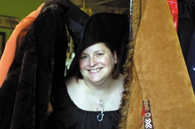 by: Barbara Adams, Susan Charriere has been collecting costumes since her stage debut at Estacada High School in the mid-1970s. Now they're on sale, at least 300 of them, at Button Willow Antiques in downtown Estacada.