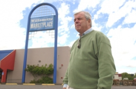 by: Vern Uyetake, Graham Bryce is hoping he is nearing the end of five years of struggling to gain approval to refurbish and revive commercial business in the former Willamette Marketplace.