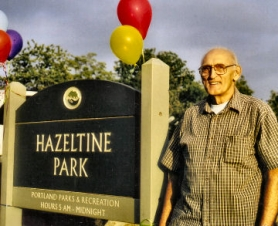 by: Rita A. Leonard, One-acre Hazeltine Park is named after long-time neighborhood 