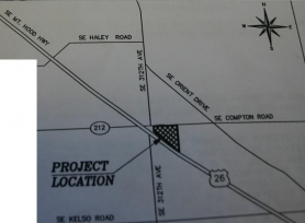 by: Marcus Hathcock, The location of the proposed Ashley's development.