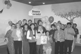 by: Submitted photo, Members of the Lake Oswego Public Library staff celebrate that the library has, for the fourth year in a row, earned the highest Hennen's American Public Library Ratings score of all libraries in Oregon.