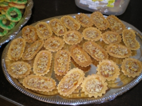 by: Barb Randall, Honungsbatar or Swedish Boats are a delightful holiday cookie.