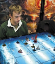 by: Contributed photo, Chris McCreath says Dreamblade is a game of strategy, like a cross between magic cards and chess.