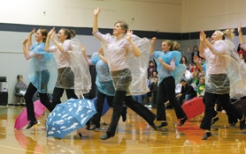 by: Barbara Adams, The Estacada High School dance team placed third in the novelty category at the Gresham Winter Dance Invitational Saturday.