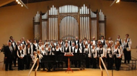 by: submitted photo, The 70-member West Linn Community Chorus will participate in four concerts this holiday season.