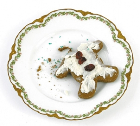 by: JIM CLARK, All over the world, gingerbread men are set to lose their heads — and more — in this month of merriment.