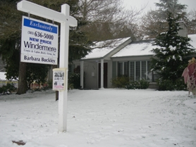 by: Vern Uyetake, Sell your home this winter with the help of local real estate agents.