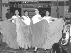 by: contributed photo, The Letticia Varela Folkorico Dancers performed in the Latin America Plaza at the eighth annual auction to benefit Human Solutions at the Airport Sheraton Hotel on Saturday, Feb. 24.