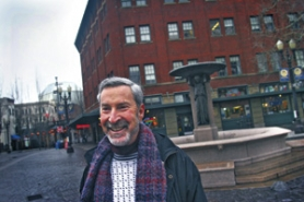 by: DAVID PLECHL, Ron Paul, a tireless booster of a year-round public market downtown, keeps the optimism on high for the latest plan of siting it at Union Station. A feasibility study's on the way.
