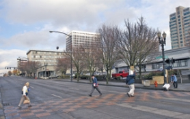 by: DENISE FARWELL, Ownership has yet to be determined for a possible headquarters hotel on land owned by the Portland Development Commission across the street from the Oregon Convention Center.