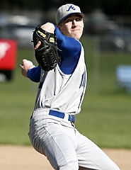 by: MILES VANCE, GEARED UP — Aloha senior pitcher Dylan Jones leads an experienced Warrior squad in search of a Metro League title and a third straight state playoff berth in 2007.
