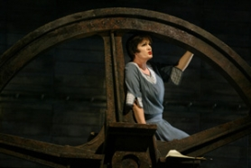 "by: Jim Clark, In Portland Opera's production of ""The Flying Dutchman,"" Elizabeth Byrne sings the delicate role of Senta, a girl who falls for a sailor, comes of age and hits a lot of high notes."