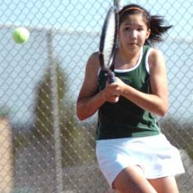 by: File photo, TOP TIGER – Tigard junior Kelsey Wahl will be playing at No. 1 singles for the Tigers this season.