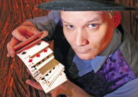 by: DENISE FARWELL, Mark Benthimer can pick your card or multiply your money at Magicfest, his joke and novelty shop at Jantzen Beach. Just don't walk out of the store with his $100 bill.