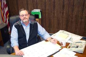 by: Bob Schoenberg, David Wells, King City's new City Manager hired in March.
