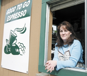 by: Chase Allgood, Tami Brown of Banks has taken over ownership of Good To Go Espresso on the corner of Main Street and 19th Ave. in Forest Grove.