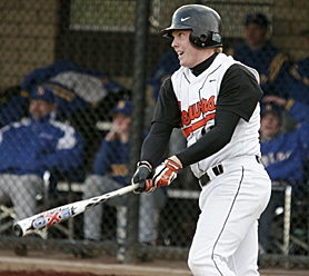 by: MILES VANCE, SENIOR SWINGER – Beaverton senior Austin Potter went 2-for-3 and scored once to help the Beavers beat Barlow 7-1 on Monday at Beaverton High School.