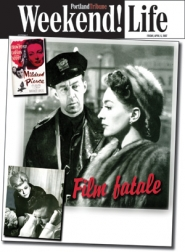 "by: Courtesy of Northwest Film Center, Joan Crawford cuts a powerful figure as the title character in ""Mildred Pierce"" (right, with Gary Owen)The film is part of the Northwest Film Center's monthlong noir fest."
