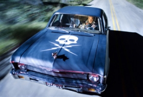 "by: courtesy of The Weinstein Co., Kurt Russell and a tricked-out Chevy Nova star in ""Death Proof,"" the segment of ""Grindhouse"" from ""Pulp Fiction"" director Quentin Tarantino."