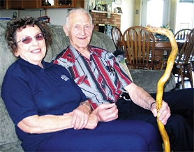 by: Nancy Townsley, Doris and John Terhorst, married for 52 years, became hospice volunteers in 1994. A year ago, they signed on with Home Instead Health Care of Hillsboro to provide in-home care to clients who need extra help in their senior years.