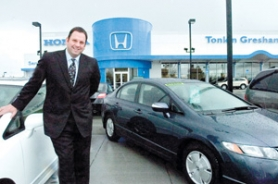 by: John Klicker, General Manager Scott Sidell says the new Tonkin Gresham Honda has plenty of amenities for customers, including wireless Internet and a viewing station so patrons can see the progress on their vehicles.