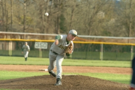 by: Vern Uyetake, FILE PHOTO - Kyle Kraus has put together a stellar junior season so far and, most recently, tossed a complete game and earned the win in a 3-2 victory over Oregon City.