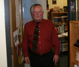 by: Marcus Hathcock, Principal Jim Saxton will end his 30-plus years with Sandy High School this June.