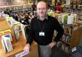 by: Jonathan House, Peter Leonard, executive director of the Cedar Mill Community Library, is excited about plans to open a new Bethany branch library in July to expand services for patrons.