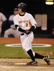 by: COURTESY OF OSU, Leading his team in hits and RBIs, Oregon State's Mike Lissman is playing regularly this year.
