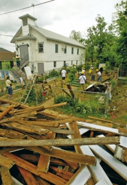 by: L.E. BASKOW, Oregonians on the Flight of Friendship trip to New Orleans earlier this month saw some of the demolition and rebuilding work going on in the city more than a year and a half after Hurricane Katrina.
