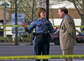 by: L.E. BASKOW, A few weeks before she was named police chief, Rosie Sizer visited the scene of a police Tasering on Northeast Sandy Boulevard last year with then-assistant chief Jim Ferraris.