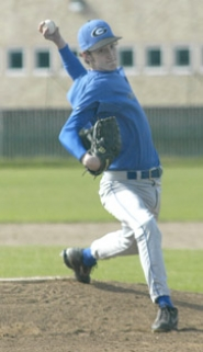 by: David Ball, Gresham pitcher Chris Hibler moved to 5-0 in league starts after his one-hit shutout performance Friday.