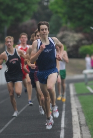 by: Vern Uyetake, The track season didn't end with the state meet for Lake Oswego's Elijah Greer, foreground. After running a state-best time while winning the 1,500 at the state meet, Greer then clocked a state-best time in the 800 while competing last weekend at Prefontaine preliminary meet.