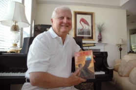 by: Sam Bennett, John Bruce was the first person to pick up a copy of the newest Harry Potter book from the Lake Oswego Public Library.