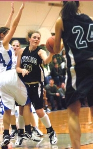 by: DAN BROOD, EYE OF THE TIGER — Junior guard Corinn Waltrip is one of the top returnees for the Tigard High School girls basketball team this season.